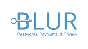 Blur password manager