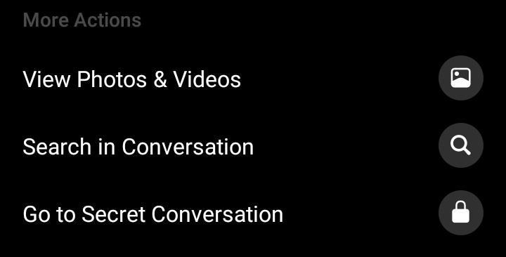 How to set up Messenger secret chat