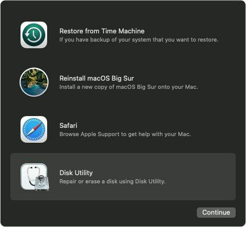 Mac Disk Utility